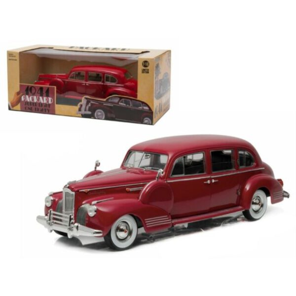 1941 Packard Super Eight One-Eighty Limited Edition (Rood) (30cm) 1/18 Greenlight