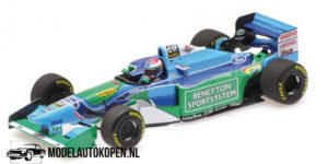 Benetton Ford B194 - Jos Verstappen (Groen) (12 cm) 1/43 Minichamps