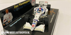 Stewart Ford Limited Edition 1998 Jos Verstappen (Wit) (12 cm) 1/43 Minichamps