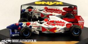 Arrows Hart FA17 - Jos Verstappen (Wit) (12 cm) 1/43 ONYX