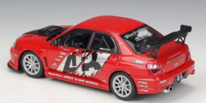Subaru Impreza Performance (Rood) (22 cm) 1/24 Welly
