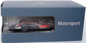 Vodafone McLaren Mercedes MP4-23 Heikki Kovalainen - Saison 2008 (Zilver) (10 cm) 1/43 Minichamps
