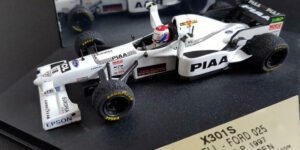 Tyrrell Ford 025 - Jos Verstappen - Monaco G.P. 1997 (Wit) (12 cm) 1/43 ONYX