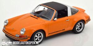 Porsche Singer 911 Targa Limited Edition - 1 of 750 pcs. (Oranje) (30 cm) 1/18 KK Scale