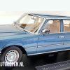 Mercedes-Benz S Class W116 (Blauw) (30 cm) 1/18 iScale