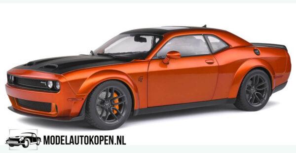 Dodge Challenger SRT Hellcat Redeye 2020 (Oranje) (30 cm) 1/18 Solido
