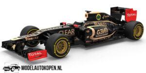 Lotus F1 Team Kimi Raikkonen 2012 (Zwart) (12 cm) 1/43 CORGI Special Edition