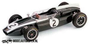 Cooper T53 R299 GP Gran Bretagna 1960 Bruce McLaren (10 cm) 1/43 BRUMM