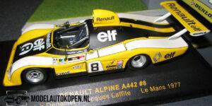 Renault Alpine A442 #8 (Geel) (12 cm) 1/43 IXO Models