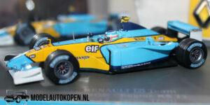 Renault F1 Team A202 - Engine RS 22 (Blauw) (12 cm) 1/43 Universal Hobbies