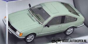 Opel Monza A 1978 (Groen) (10 cm) 1/43 Schuco