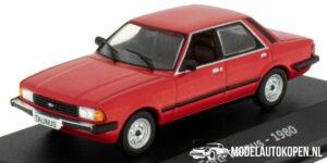 Ford Taunus 1980 (Rood) (8 cm) 1/43 Atlas