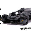 Batman Batmobile (Justice League) + Speelfiguur (Zwart) (11 cm) 1/32 JADA