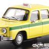 Renault 8 Bamako 1970 Taxi (Geel) (15cm) 1/43 Atlas