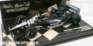 Minardi European PS01 Testcar CH. Albers (Zwart) (12 cm) 1/43 MiniChamps