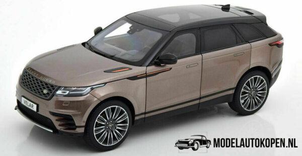 Land Rover Range Rover Velar First Edition (Bruin) (30 cm) 1/18 LCD Models