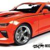 Chevrolet Nicky Super Camaro 2016 (Oranje) (30 cm) 1/18 Autoworld Limited Edition