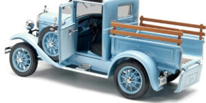 Ford Model A Pick Up 1931 Classic Collectibles (Blauw) (25 cm) 1/18 Sun Star