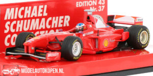Ferrari F300 Michael Schumacher Collection (Rood) (10 cm) 1/43 Minichamps