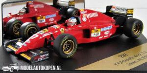 Ferrari 412 T2 Jean Alesi (Rood) (12 cm) 1/43 ONYX