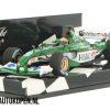 Jaguar Racing R4 A. Pizzonia (Groen) (12 cm) 1/43 MiniChamps Limited Edition