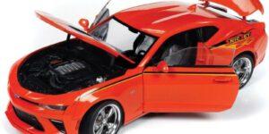 Chevrolet Camaro 2016 (Oranje) (30 cm) 1/18 Autoworld Limited Edition