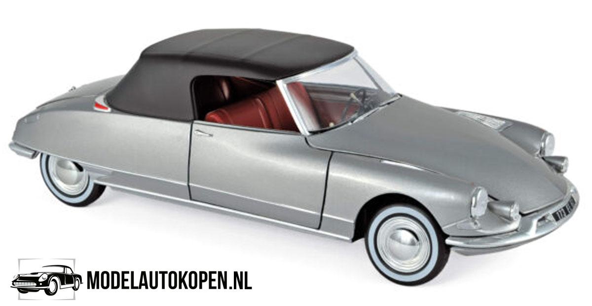Citroën DS 19 1961 (Zilver) (30 cm) 1/18 Norev