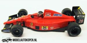 Ferrari F1 89 (Rood) (10 cm) 1/43 Onyx