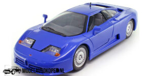 1991 Bugatti EB 110 (Blauw) (30cm) 1/18 Anson