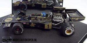 Lotus 72E R. Peterson Monaco GP 1974 (Zwart) (10 cm) 1/43 Quartzo