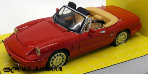 Alfa Romeo Spider (Rood) (21 cm) 1/18 Jouef Evolution
