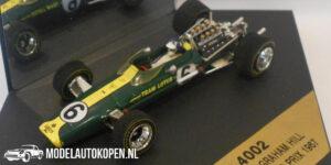 Lotus 49 Graham Hill Dutch Grand Prix 1967 (Groen) (10 cm) 1/43 Quartzo