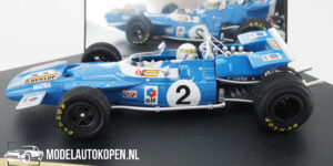 Matra MS80 Jackie Stewart French GP 1969 (Blauw) (10 cm) 1/43 Quartzo