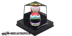 HF011 Jos Verstappen Helm Schaalmodel 4 cm Onyx