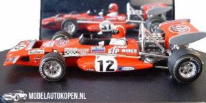 March 701 STP German GP 1970 Jo Stiffert (Rood) (10 cm) 1/43 Quartzo