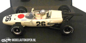 Honda RA272 R. Ginther French GP 1965 (Wit) (10 cm) 1/43 Quartzo