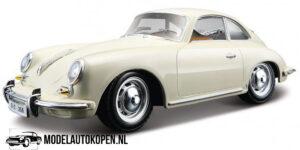 Porsche 356B Coupe 1961 (Creme) (20cm) 1/24 Bburago