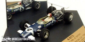 Lotus 49B Jo Siffert South African GP 1969 (Blauw) (10 cm) 1/43 Quartzo