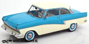 Ford Taunus 1957 – Limited Edition 1 of 1000 pcs. (Creme/Blauw) (30 cm) 1/18 KK Scale