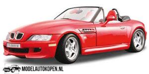 1996 BMW M Roadster (Rood) (22cm) 1/18 Bburago