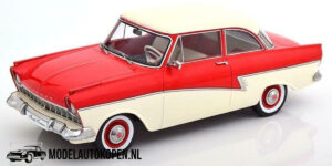 Ford Taunus 1957 – Limited Edition 1 of 1250 pcs. (Rood/Wit) (30 cm) 1/18 KK Scale