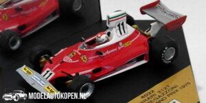 Ferrari 312T Clay Regazzoni Italian GP 1975 (Rood) (10 cm) 1/43 Quartzo