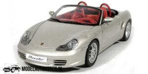 Porsche Boxster (Zilver) (22 cm) 1/18 Bburago