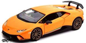 Lamborghini Huracán Performante (Oranje) (20 cm) 1/24 Bburago