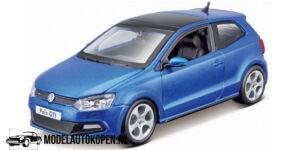 Volkswagen Polo GTI Mark 5 (Blauw) (20 cm) 1/24 Bburago