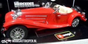 1936 Mercedes-Benz 500K Roadster (Rood) 1/20 Bburago