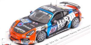 Porsche Cayman 981 GT4 CS Teichmann Racing 24H Nürburgring 2017 (Zwart) (10cm) 1/43 Spark
