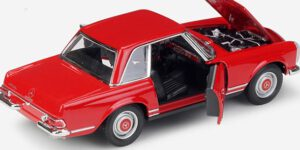 Mercedes-Benz 230SL (Rood) (20 cm) 1/24 Welly