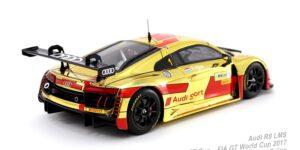 Audi R8 LMS - Audi Sport Team WRT - FIA GT World Cup Macau 2017 (Goud) (10cm) 1/43 Spark
