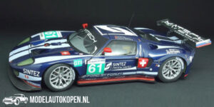 Ford GT Matech Racing #60 LM 2010 (Blauw) (10cm) 1/43 Spark